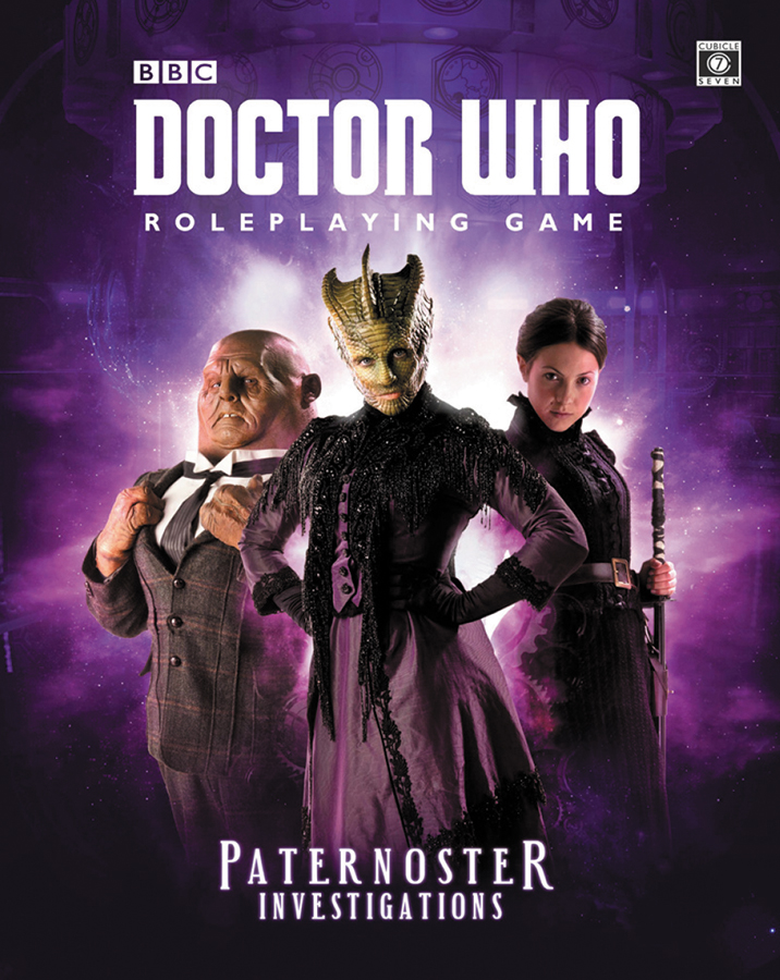 Doctor Who Rpg: Paternoster Investigations Hardcover Box Front