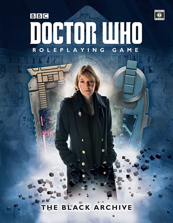 Doctor Who Rpg: Black Archive Hardcover Box Front