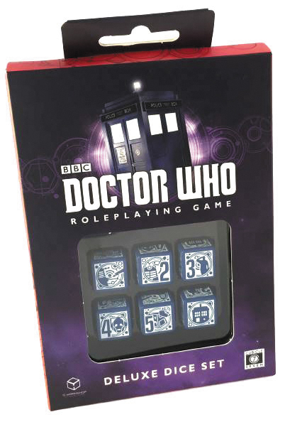 Doctor Who Rpg: Deluxe Dice Set Box Front