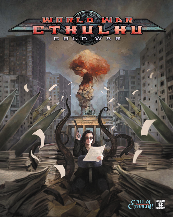 Call Of Cthulhu: World War Cthulhu - Cold War Hardcover Box Front