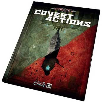 Call Of Cthulhu: World War Cthulhu - Covert Actions Box Front