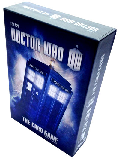 Doctor Who: Card Game Second Edition Box Front