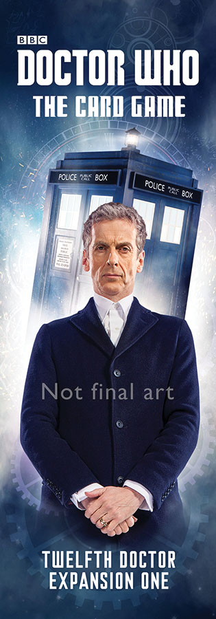 Doctor Who: Card Game Second Edition - The Twelfth Doctor Expansion 1 Box Front