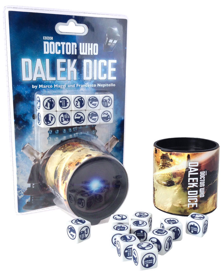 Doctor Who: Dalek Dice Box Front