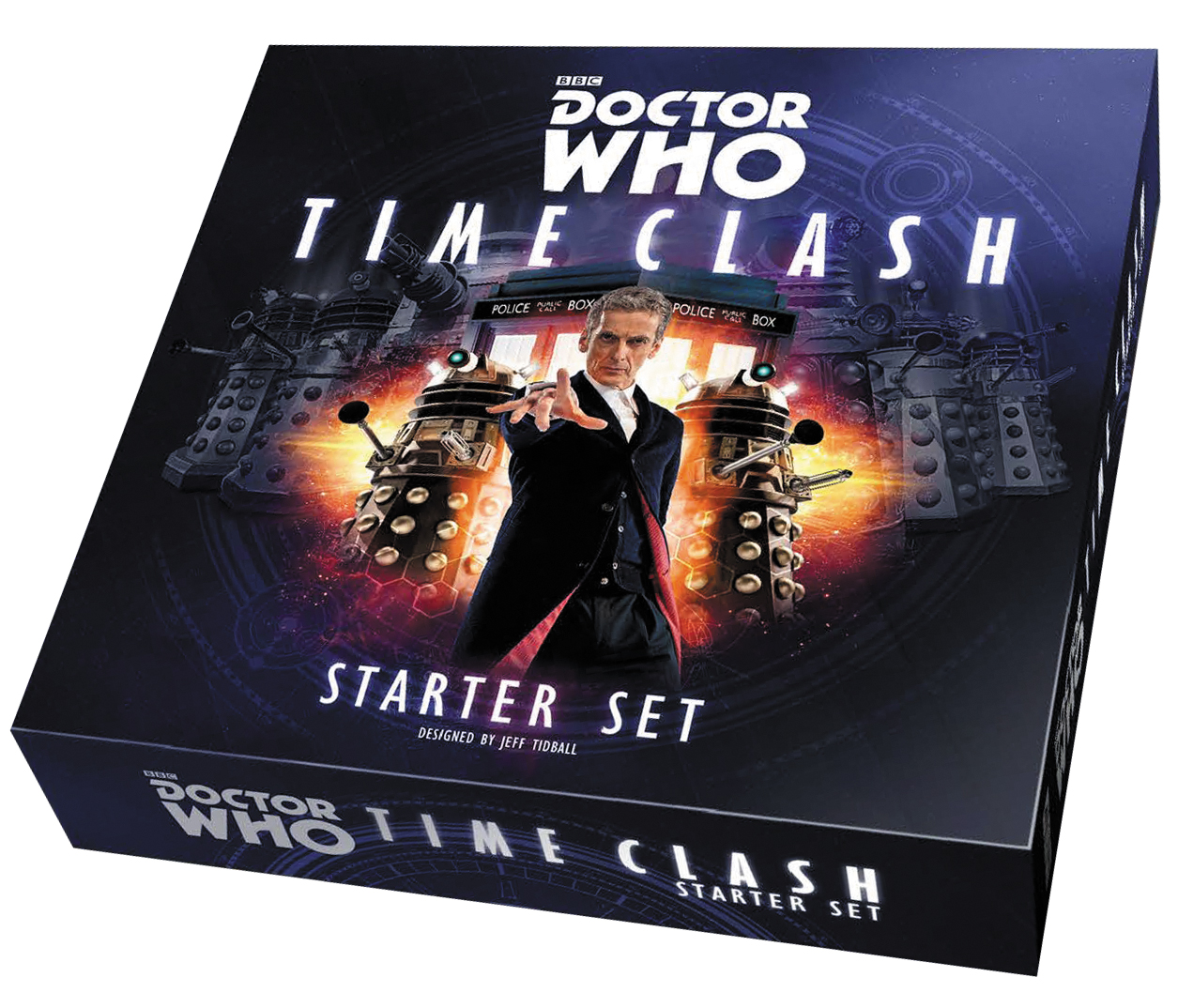 Doctor Who Time Clash: Starter Set Box Front