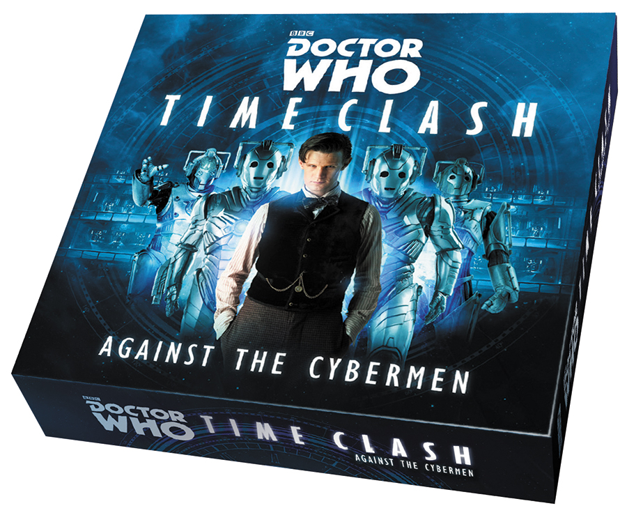 Doctor Who Time Clash: Against The Cybermen Expansion Box Front