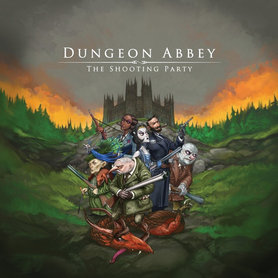 Dungeon Abbey: The Shooting Party Box Front
