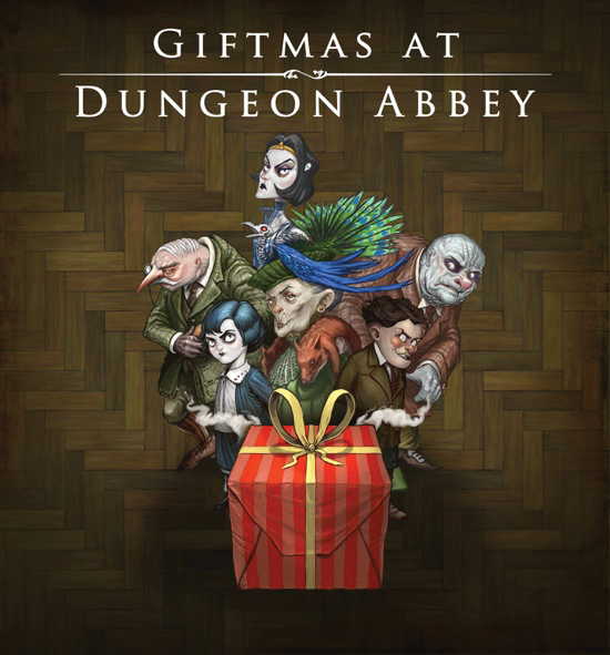 Giftmas At Dungeon Abbey Box Front