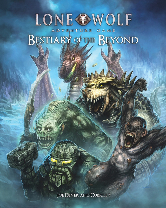 The Lone Wolf Adventure Game: Bestiary Of The Beyond Hardcover Box Front