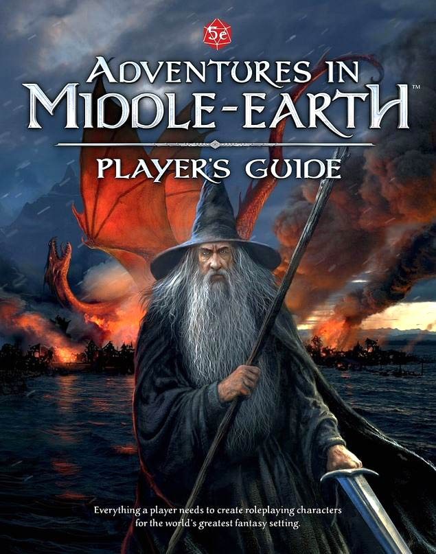 Dungeons And Dragons Rpg: Adventures In Middle-earth - Player`s Guide Hardcover Box Front