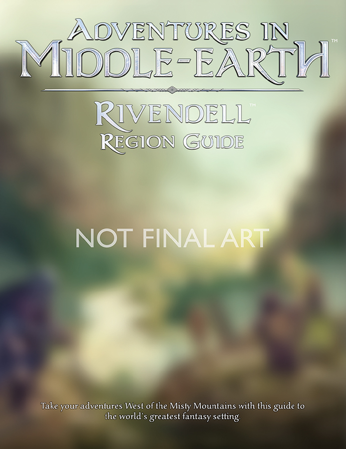 Dungeons And Dragons Rpg: Adventures In Middle-earth - Rivendell Region Guide Box Front