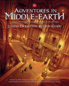 Dungeons And Dragons Rpg: Adventures In Middle-earth - Lonely Mountain Region Guide Game Box