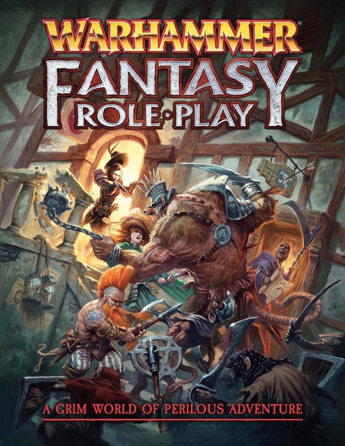 Warhammer Fantasy Rpg: 4th Edition Rulebook Box Front