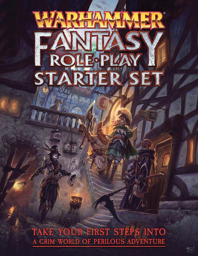 Warhammer Fantasy Rpg: 4th Edition Starter Set Box Front