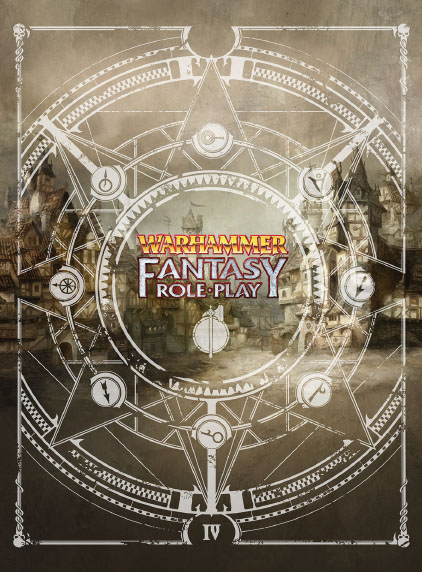 Warhammer Fantasy Rpg: 4th Edition Rulebook - Collector`s Limited Edition Box Front