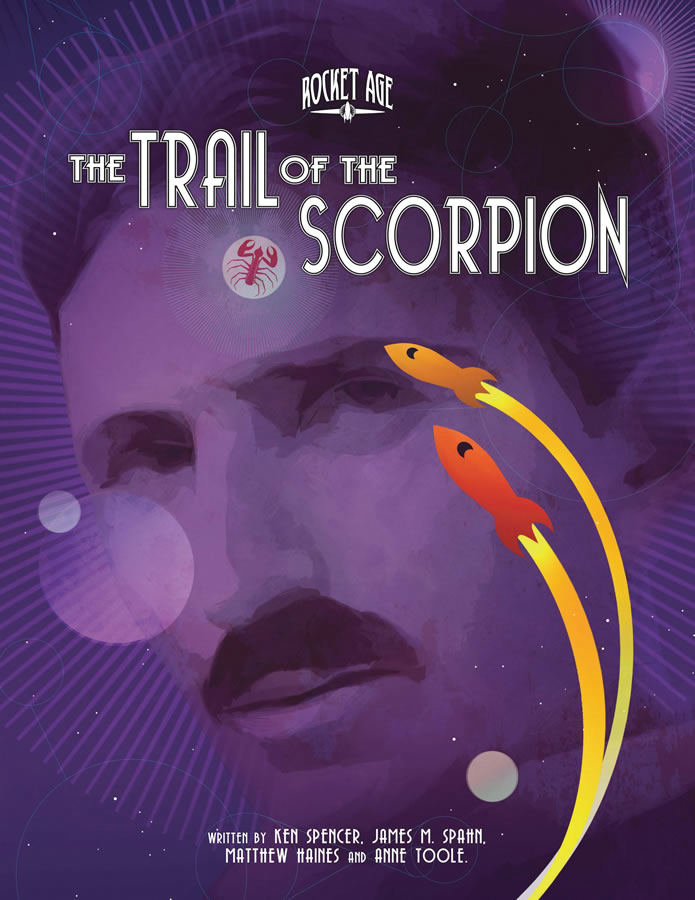 Rocket Age Rpg: Trail Of The Scorpion Box Front