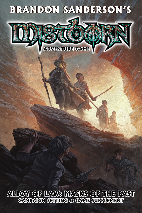 Mistborn: Alloy Of Law: Masks Of The Past Box Front