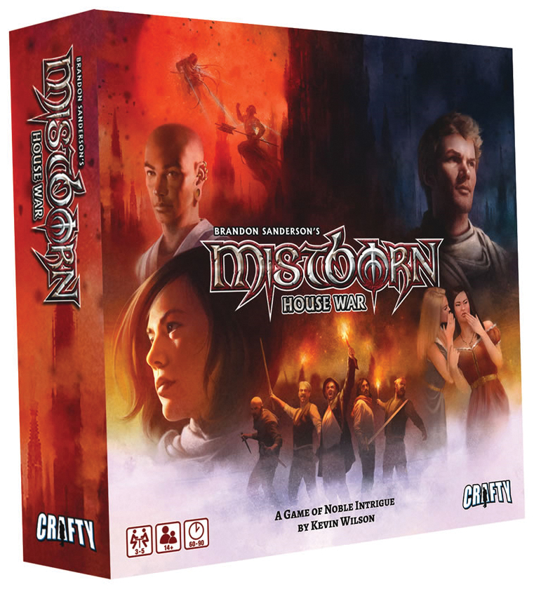 Mistborn: House War Boardgame Box Front