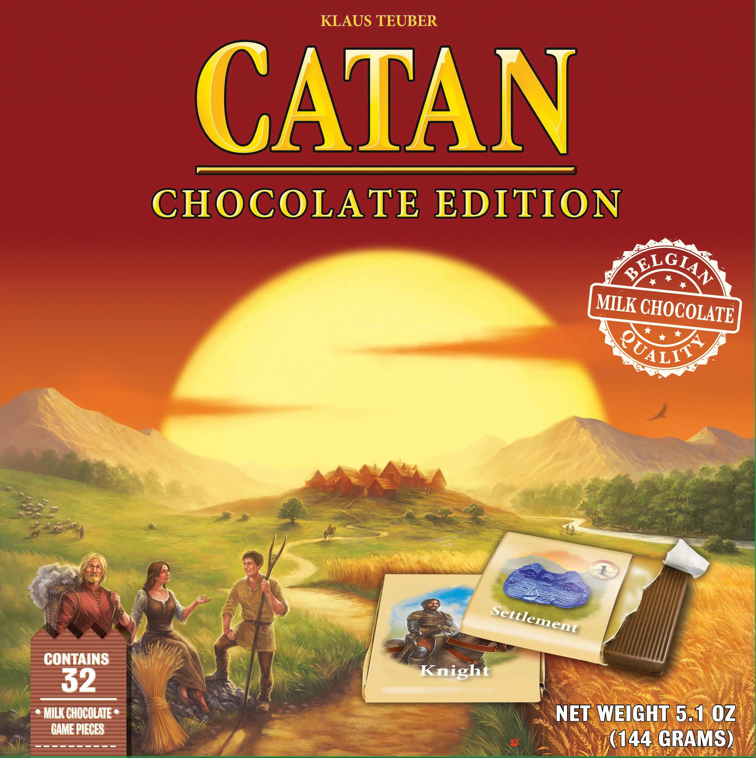 Catan: Chocolate Edition Case (6) Box Front