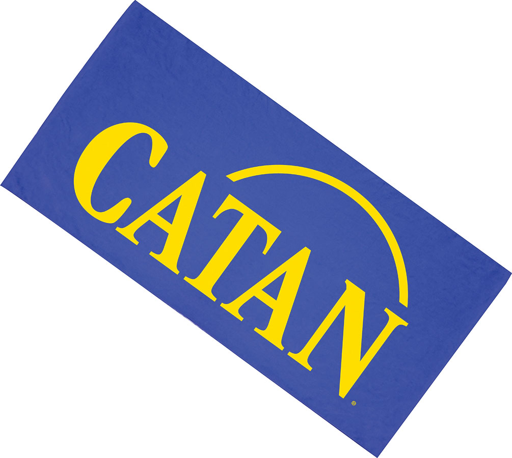 Catan: Beach Towel 28x58 Game Box