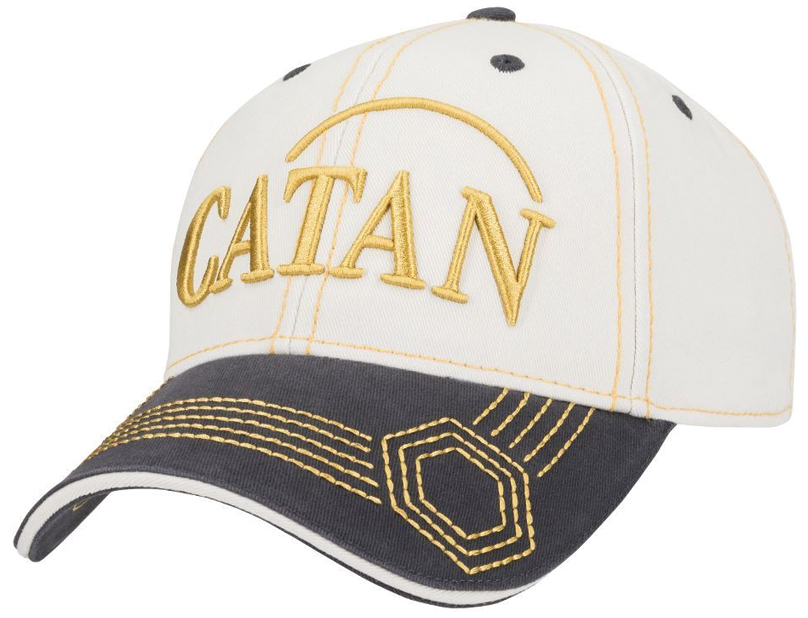 Catan: Baseball Hat, Embroidered - Sheep Box Front
