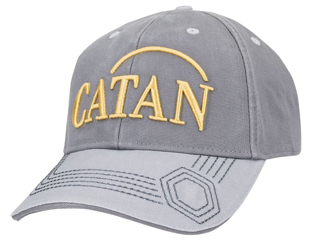 Catan: Baseball Hat, Embroidered - Ore Box Front