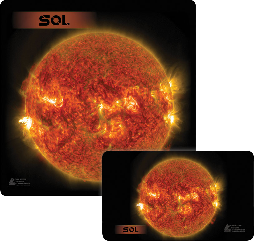 Galaxy Series Play Mat: Sol 14x24 Game Box