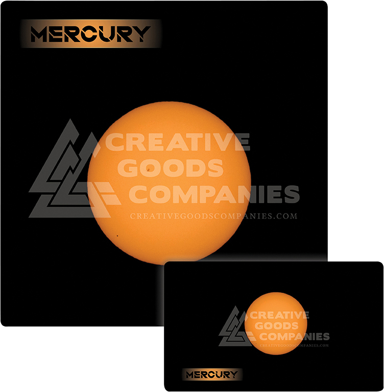 Galaxy Series Play Mat: Mercury 14x24 Box Front
