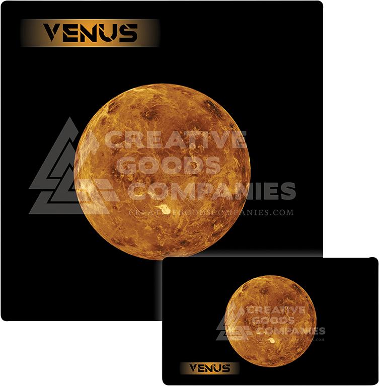 Galaxy Series Play Mat: Venus 36x36 Box Front