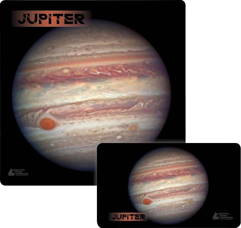 Galaxy Series Play Mat: Jupiter 36x36 Box Front