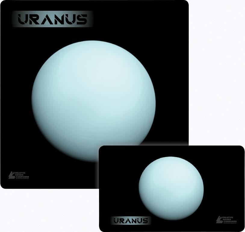 Galaxy Series Play Mat: Uranus 14x24 Game Box