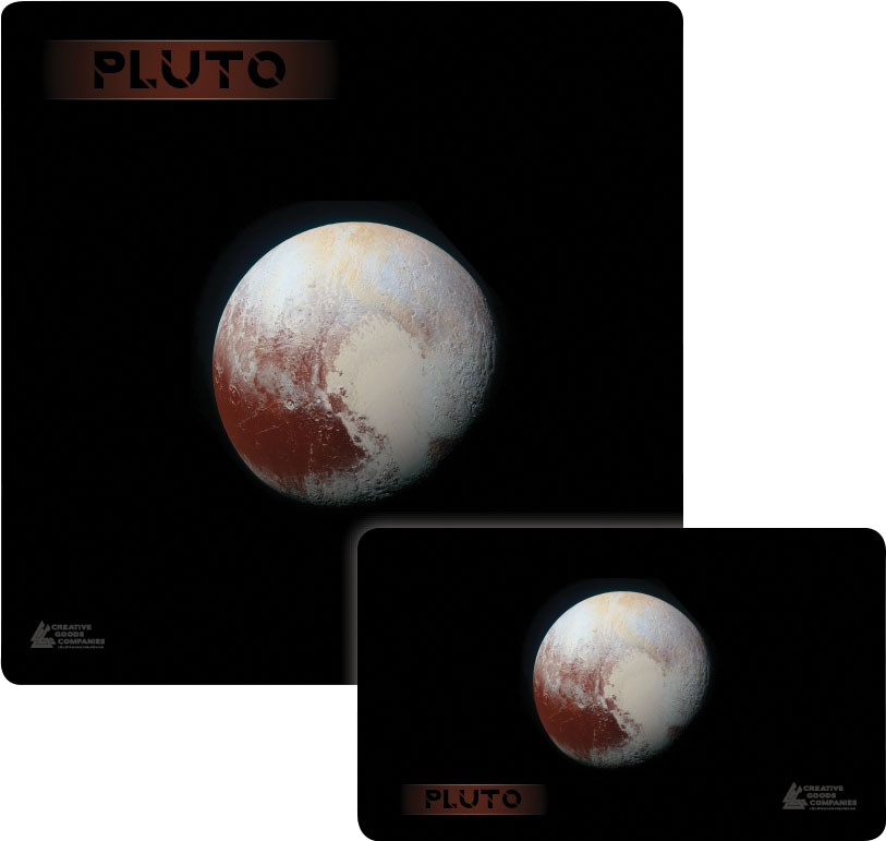 Galaxy Series Play Mat: Pluto 14x24 Game Box