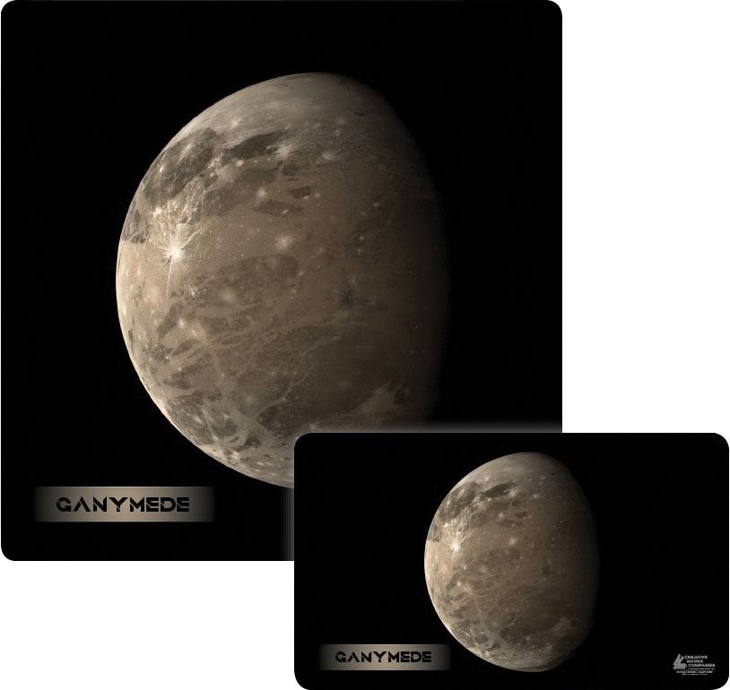 Galaxy Series Play Mat: Ganymede 14x24 Game Box
