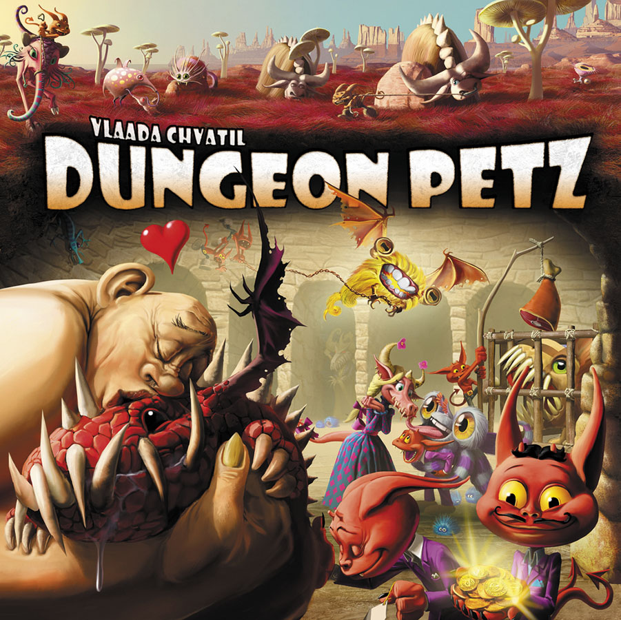 Dungeon Petz Box Front