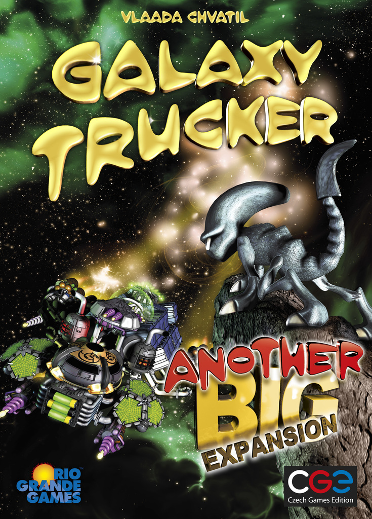 Galaxy Trucker: Another Big Expansion Box Front