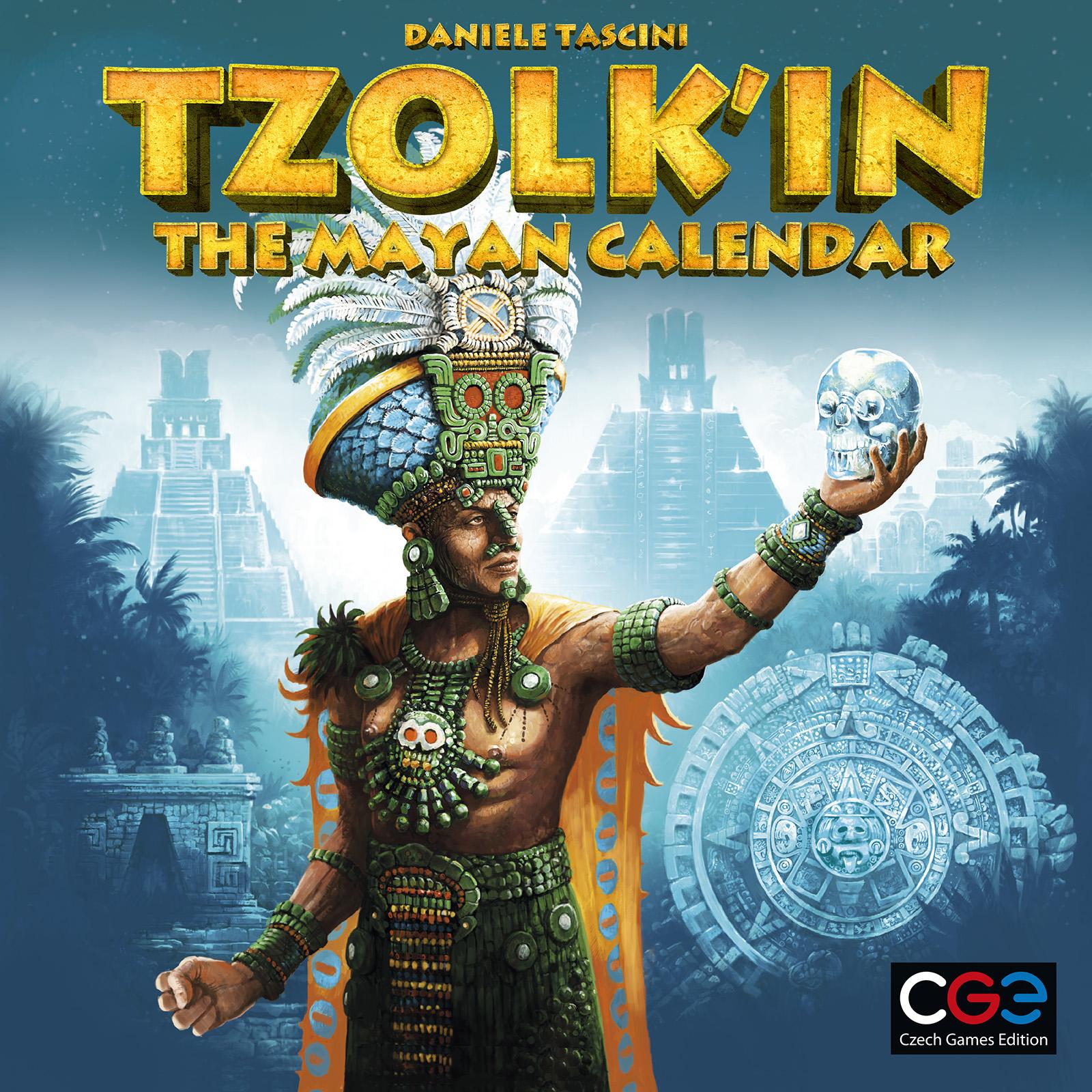 Tzolk In The Mayan Calendar Box Front