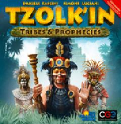 Tzolk In The Mayan Calendar: Tribes And Prophecies Expansion Box Front