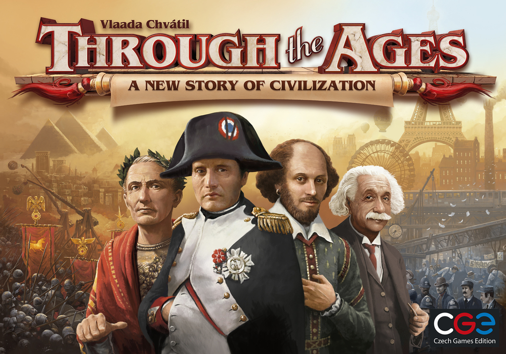 Through The Ages: A New Story Of Civilization Box Front