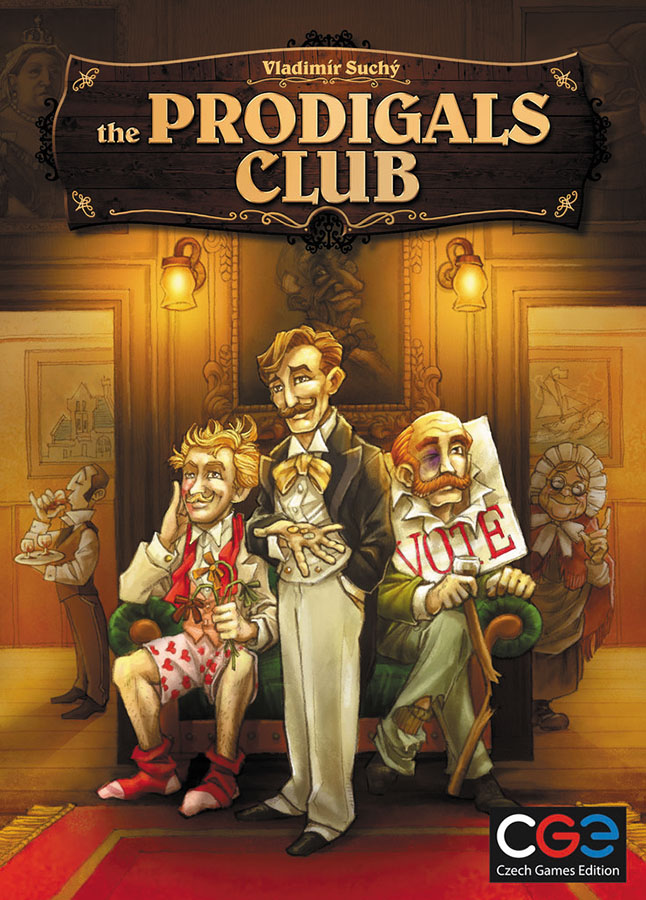 The Prodigals Club Box Front