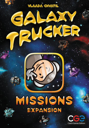 Galaxy Trucker: Missions Box Front