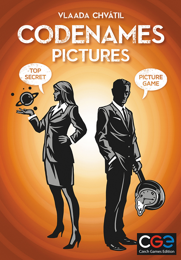 Codenames: Pictures Box Front