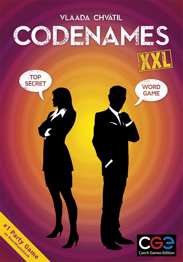 Codenames: Xxl Box Front