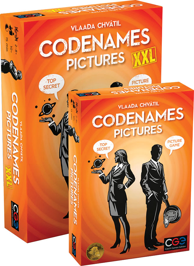 Codenames: Pictures Xxl Game Box