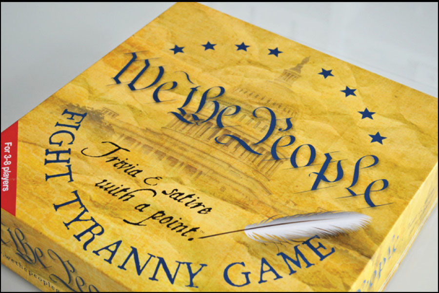 We The People Fight Tyranny Box Front