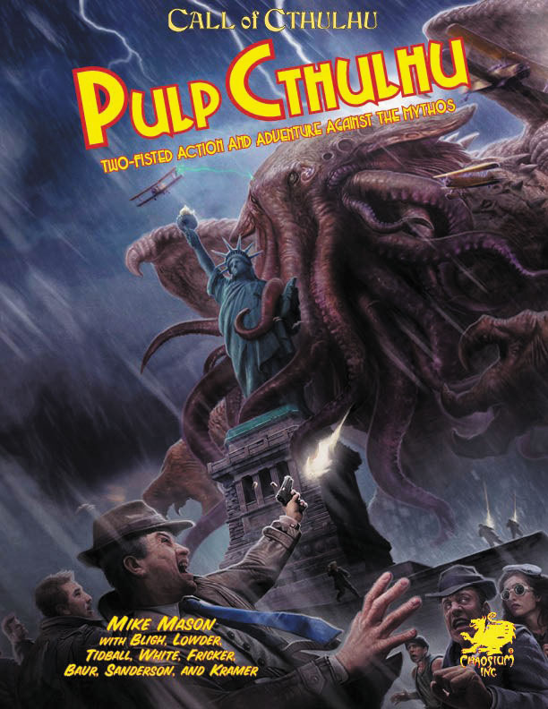 Call Of Cthulhu: Pulp Cthulhu - Two-fisted Action & Adventure Against The Mythos Hardcover Box Front
