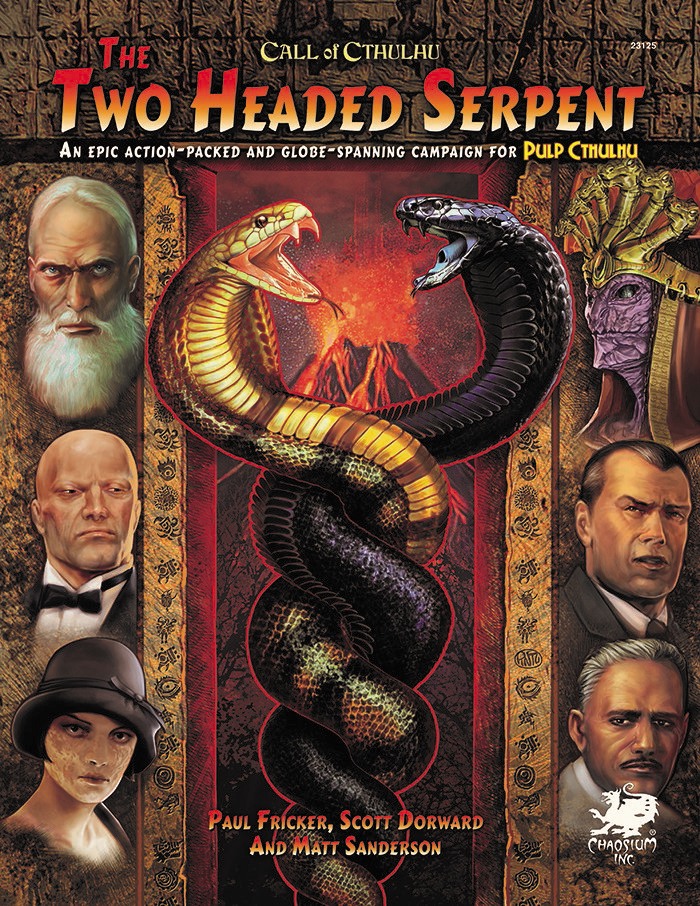Call Of Cthulhu: The Two-headed Serpent Hardcover Box Front