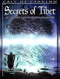 Call Of Cthulhu: Secrets Of Tibet Softcover Box Front