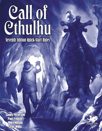 Call Of Cthulhu: Call Of Cthulhu 7 Quick Start Box Front