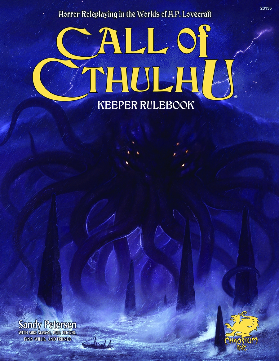 Call Of Cthulhu: 7th Edition Hardcover Box Front