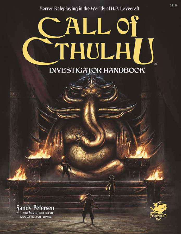 Call Of Cthulhu: 7th Edition Investigator Handbook Box Front